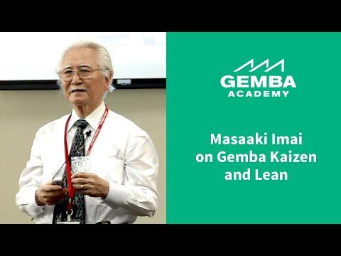 Masaaki Imai On Gemba, Kaizen And Lean