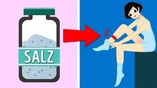 9 Zeichen Dafür, Dass Du Zu Viel Salz Isst