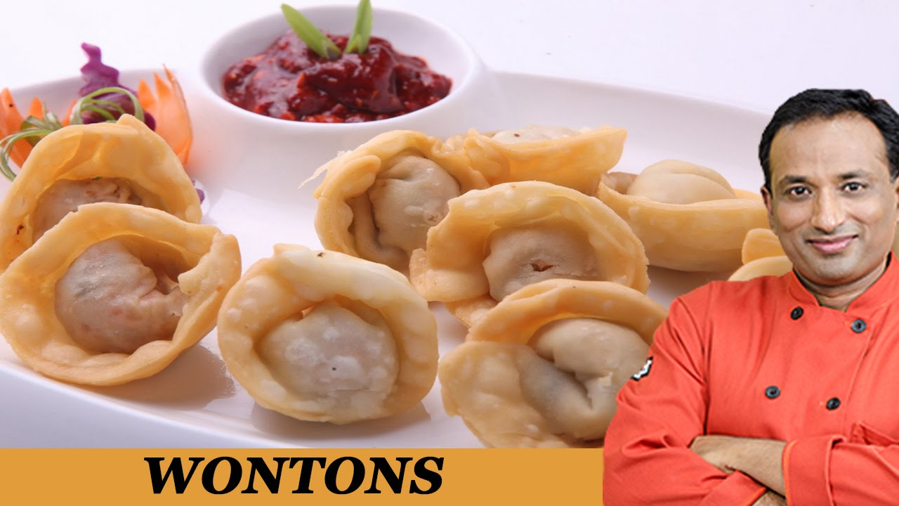 Crispy Chicken Wonton Recipe With Philips Air Fryer By Vahchef Youtube