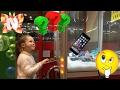 ВЛОГ 🤑достанет Николь Телефон из Автомата? торговый автомат Сюрприз Toy Hunt лизуны Vending Machine