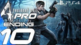 Resident Evil 4 (PS4) - Professional Gameplay Walkthrough Part 10 - Final Boss & Ending