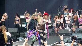 Steel Panther - Death To All But Metal (LIVE @ Download Festival 2014)