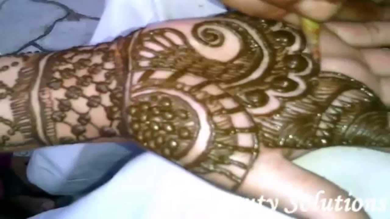 Mehndi Hand Name : Latest bridal mehndi designs beautiful heena simple and unique