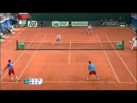 Official Davis Cup Highlights: Kazakhstan 1-3 Czech Republic