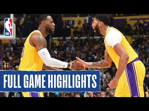 GRIZZLIES at LAKERS   FULL GAME HIGHLIGHTS   October 29, 2019