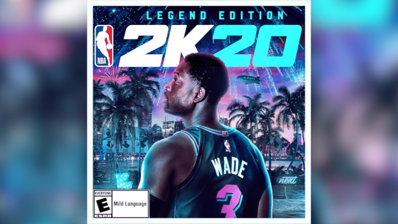Dwyane Wade featured on cover of NBA 2K20 Legend edition. Here's what it looks like