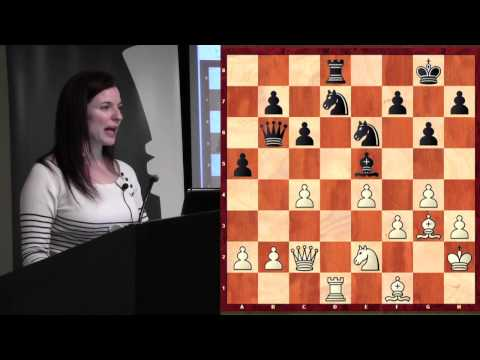 Chess for Beginners with WGM Jennifer Shahade (Pins!) - 2013.02.17