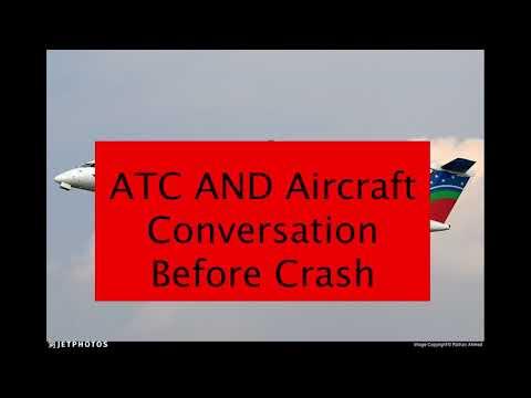 ATC and Aircraft Conversation Before Crash - US Bangla Airlines BS211 in Kathmandu Airport