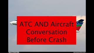 ATC and Aircraft Conversation Before Crash - US Bangla Airlines BS211 in Kathmandu Airport
