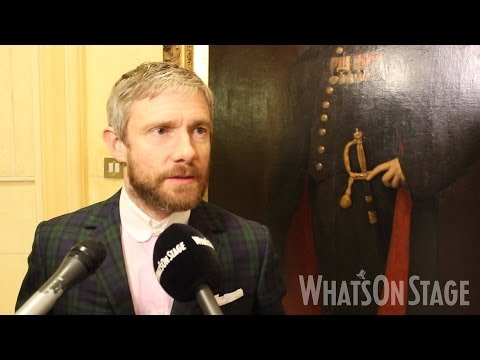 Martin Freeman, Jamie Lloyd and Gina McKee discuss Richard III