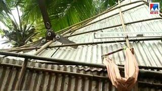 കാറ്റിൽ തൊട്ടിൽ പറന്നു; കുഞ്ഞ് രക്ഷപ്പെട്ടത് അത്ഭുതകരമായി|TVM-Venganoor-Baby