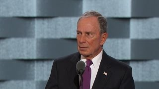 Former NYC Mayor Michael Bloomberg endorses Clinton in DNC speech