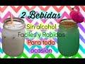 2 BEBIDAS SIN ALCOHOL FACILES Y RAPIDAS| Ale Pro Makeup96