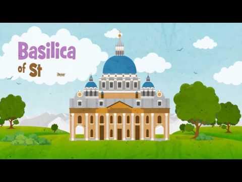 Motion Graphic Video Malaysia   Kids Animated Education Video - VaticanCity