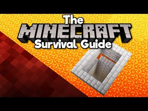 Building a Base Under Lava! ▫ The Minecraft Survival Guide (Tutorial Let's Play) [Part 256] thumbnail