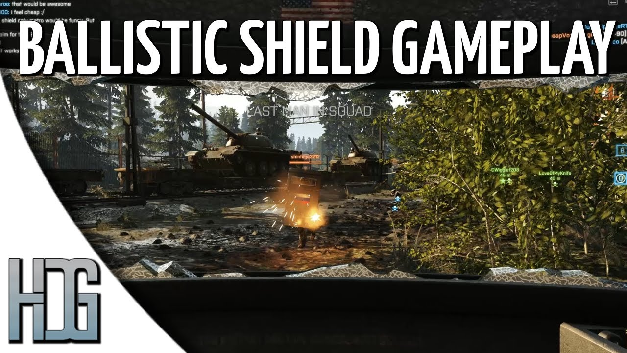 how to get balistic shield bf4