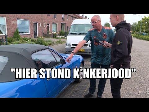 Vernielingen bij Ajacied door Feyenoorders