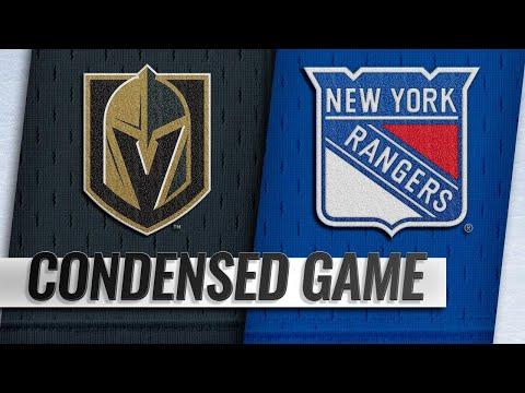 12/16/18 Condensed Game: Golden Knights @ Rangers