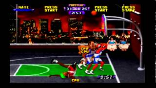 NBA Hangtime (N64) Game #29 of 29 - Bullets (Me) vs. Bulls (CPU)