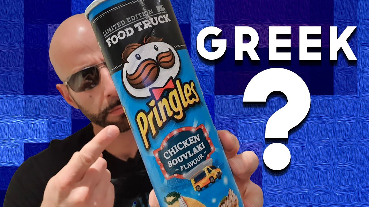 Pringles Chicken Souvlaki Review Ela Re Episode 002 Youtube