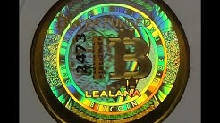 Lealana Bitcoin | 2013 Lealana .1 Brass Bitcoin | 1 of 100 Ever Made!