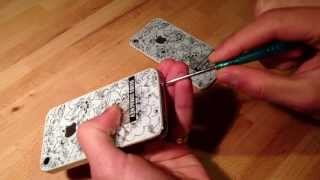 Ремонт iPhone 4S : Замена задней крышки айфон 4S(Вы узнаете как заменить заднюю крышку или стекло на айфоне 4S., 2013-05-27T21:35:00.000Z)