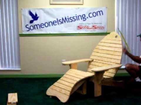 Adirondack Fish Chairs