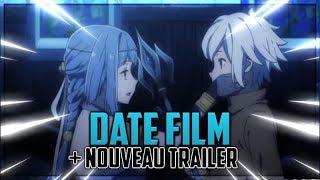 LE FILM DANMACHI A ENFIN UNE DATE ! (Nouveau trailer)