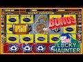 Бонусная Игра Игрового Автомата Пробки.Как Выиграть в Слот Лаки Хантер[LUCKY HAUNTER]