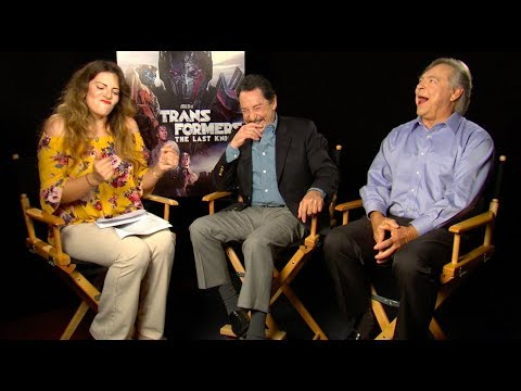 Meet the legendary voices behind Optimus Prime & Megatron from Transformers: The Last Knight