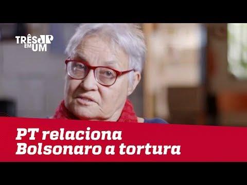PT relaciona Bolsonaro a tortura na TV