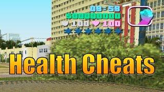 GTA Vice City Health Cheats (All Health Cheat Codes)