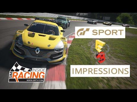 Gran Turismo Sport E3 2016 Impressions