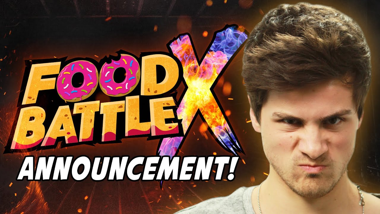 Food Battle X Announcement Youtube