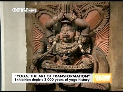 Exhibition depicts 2000 years of yoga history