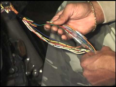 gsxr 600 wiring diagram outdoor tv antenna wire harness repair by michael jackson of all season motosports - youtube
