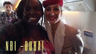 DUBAI My first time flying with Emirates Airline Nairobi to Dubai