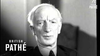 Sir William Beveridge Talks To Pathe Gazette (1942)