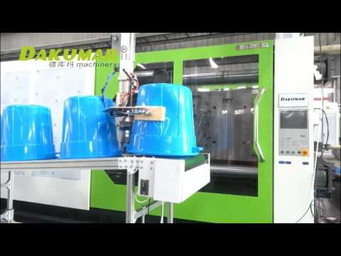Plastic injection molding machine --Dakumar Machinery
