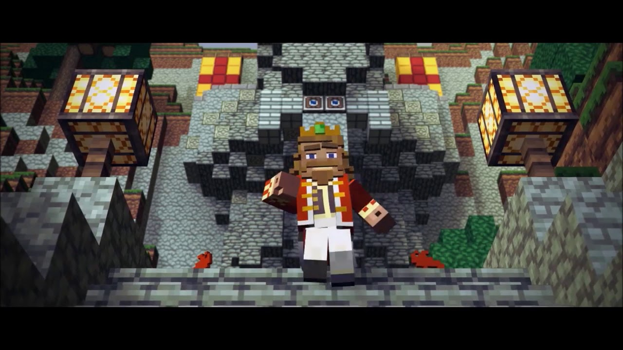 Minecraft Song Fallen Kingdom Instrumental 1 Hour Youtube