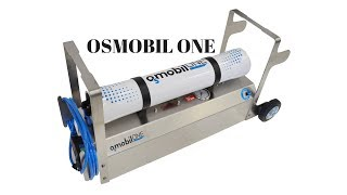 OSMOBIL ONE Inbetriebnahme Umkehrosmoseanlage / Glasreinigung