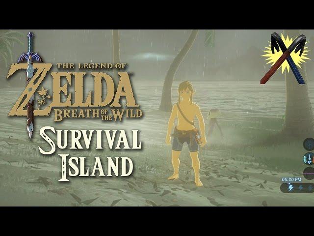 Zelda: Breath of the Wild - Survival Island