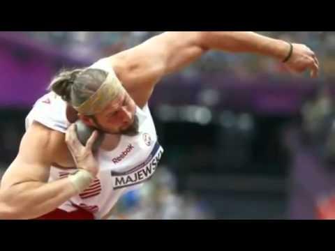 Tomasz Majewski of Poland wins shot put gold, defends Olympic title