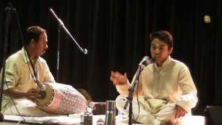 Raju Arangetram Oct12 2013-Evari Bodhana Varnam