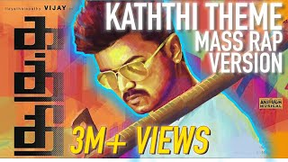 Gambar cover Kaththi Theme  - Mass Rap Version l Swords of Destiny l Hip Hop l Vijay l Anirudh l ARK l Tamil 2019