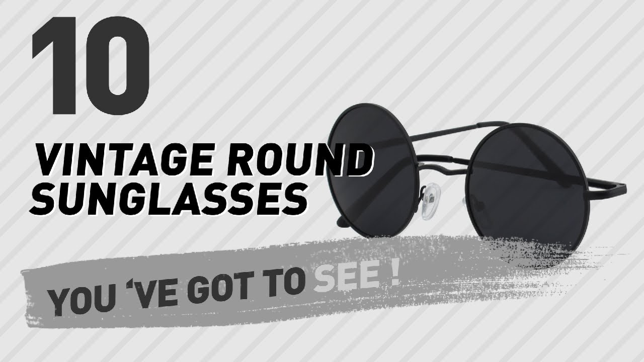 6406a931bb Vintage Round Sunglasses For Women    New   Popular 2017 - YouTube