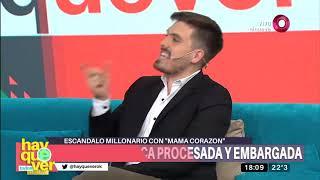 Andrea Del Boca Embargada Por 50 Millones