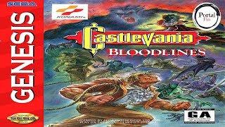 Você já jogou o CASTLEVANIA do Mega Drive?