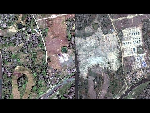 Burmese government bulldozes scores of Rohingya villages