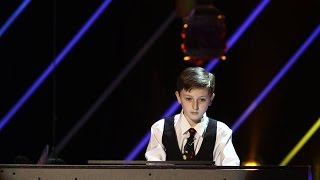 Fabiani a cantat la pian in memoria mamei lui, moarta intr-un accident rutier